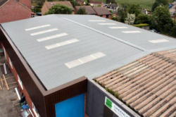 Re roof Industrial Unit, Horndean