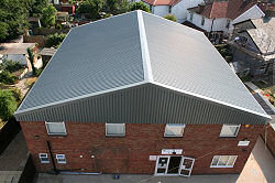 Overroof and reclad Westfield Systems, Fareham