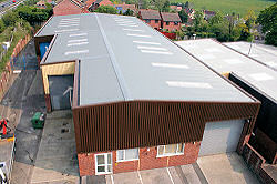 Warehouse, Horndean Hampshire strip and resheet