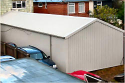 Re roof and overclad Southampton Model Centre