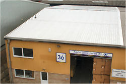 Re roof Alpha Laboratories Eastleigh