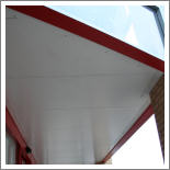 Entrance Canopy Soffits