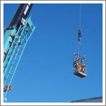 Crane Operation with personnel basket