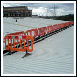 Temporary Personnel Barrier